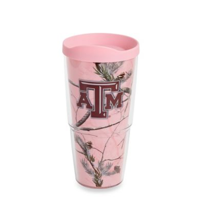 Tervis® Realtree® Wrap Texas A&M 24-Ounce Tumbler in Pink