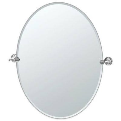 Gatco® Bridgeway Large Oval Mirror in Chrome