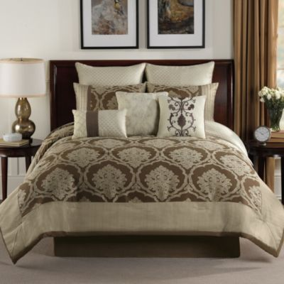 Alexa 9-Piece Reversible Comforter Set