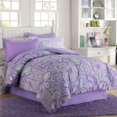 Georgia 6-8 Piece Comforter and Sheet Set