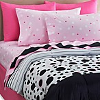 Dots It 6-8 Piece Comforter and Sheet Set