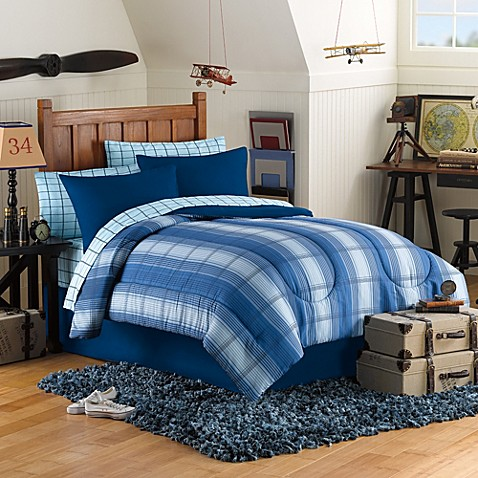 Connor 8-Piece Full Comforter and Sheet Set