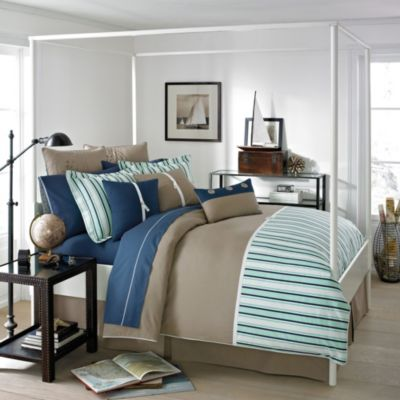 Southern Tide® Channel Marker Comforter Set in Green