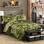 Hideout 6-8 Piece Comforter and Sheet Set
