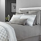 Downtown Company Urban Quilted Cotton Standard Pillow Sham in Quarry Gray