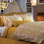 Downtown Company Urban Quilted Cotton Pillow Sham in Napel Gold