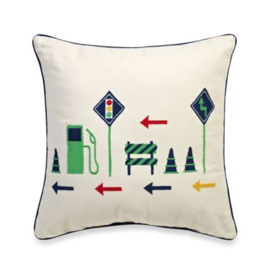 Journey Square Throw Pillow