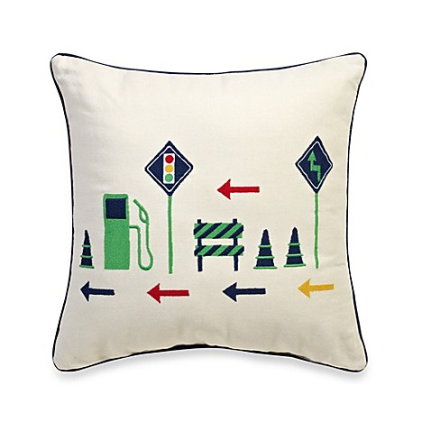 Journey Square Toss Pillow