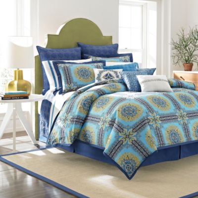 Laundry by Shelli Segal® Blue Riviera Pillow Shams