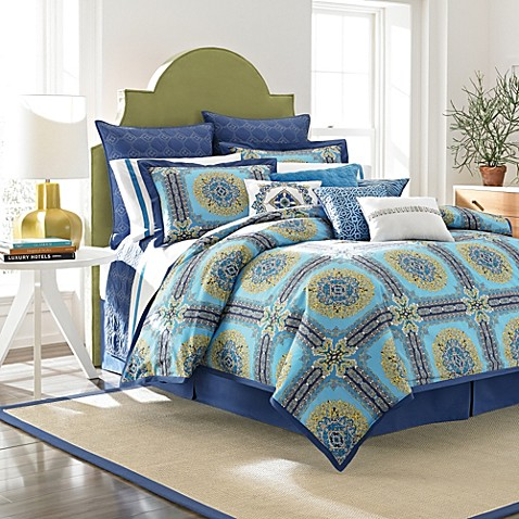 Laundry by Shelli Segal® Blue Riviera European Pillow Sham