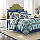 Laundry by Shelli Segal® Blue Riviera Reversible Duvet Cover
