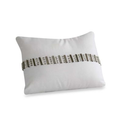 Laundry by Shelli Segal® Blue Riviera Oblong Toss Pillow
