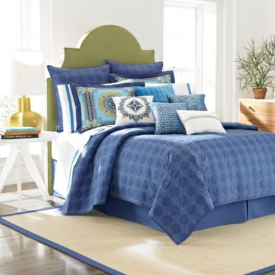 Laundry by Shelli Segal® Blue Riviera Coverlet