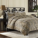 Luxury Fur Duvet Cover and Sham Set in Leopard