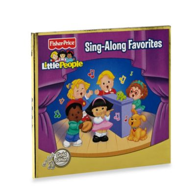 Fisher-Price® Little People™ Sing-Along Favorites Gold CD