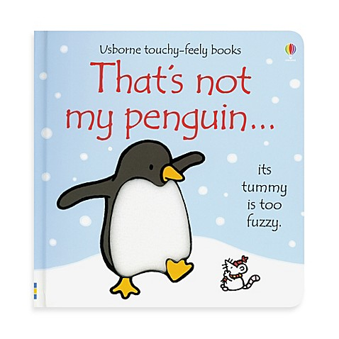 Usborne That S Not My Penguin Touchy Feely Board Book