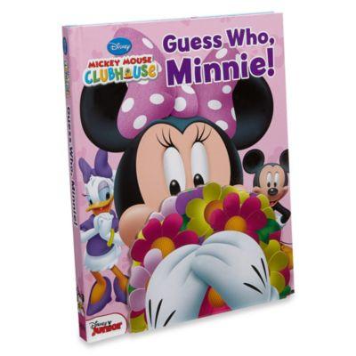 Guess Who, Minnie! Board Book