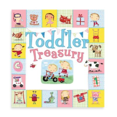 Barron's Toddler Treasury Illustrated Book w/Padded Cover