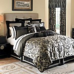 Waterford® Ormonde Shams in Black and Gold