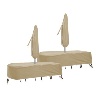 Rectangle Table Patio Furniture Covers
