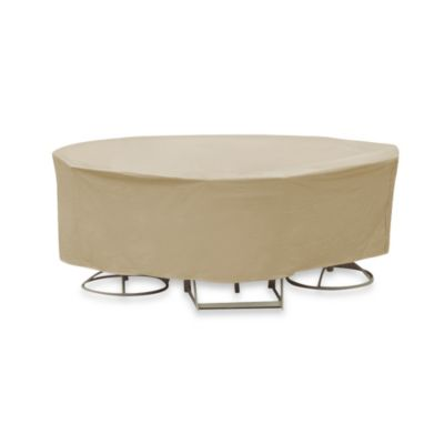 Protective Covers by Adco Round Table and Chair Cover
