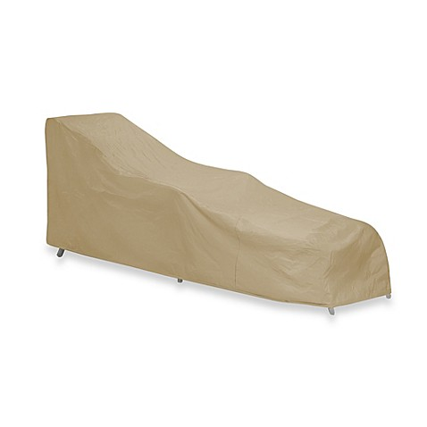 Protective covers by adco double chaise lounge chair cover for Chaise lounge covers