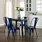 Amelia 5-Piece Cafe Table With Chairs