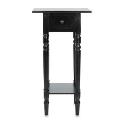 Safavieh Sabrina Nightstand in Black