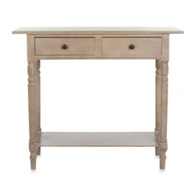 Safavieh Rosemary Console Table in Cherry