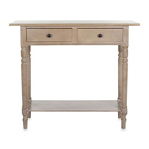 Safavieh Rosemary Console Table in Grey