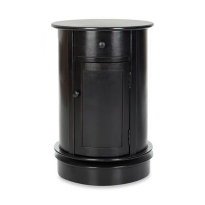 Black Furniture Storage Cabinet