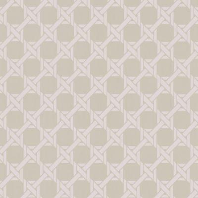 Trellis Wallpaper Sample in Grey