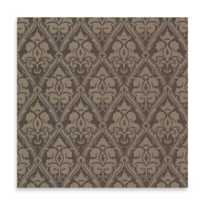 Echo Design™ Damask Wallpaper in Brown