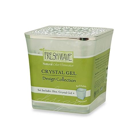fresh wave crystal gel design collection jar bed bath. Black Bedroom Furniture Sets. Home Design Ideas