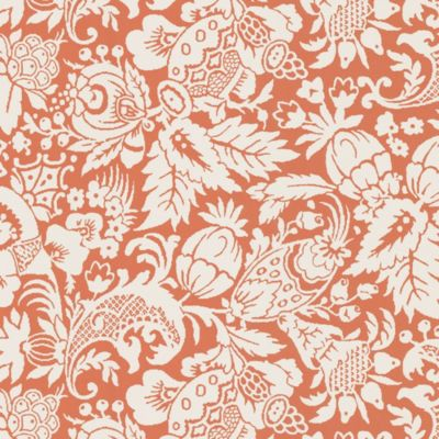 Echo Design™ Bali Wallpaper Sample in Orange