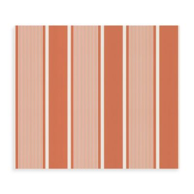Bali Wallpaper Sample in Orange