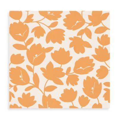Echo Design™ Freesia Wallpaper in Orange