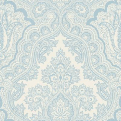 Echo Design™ Paisley Wallpaper Sample in Blue
