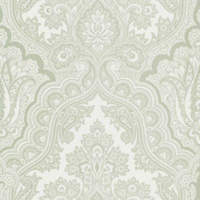 Echo Design™ Paisley Wallpaper Sample in Grey
