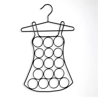 Dress-Shaped Scarf Hanger