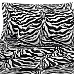 Black Zebra Pillowcases (Set of 2)