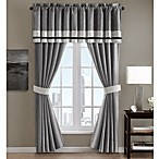 Dylan Window Valance in Grey