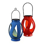 Kenroy Home Leaves Solar Hanging Lantern