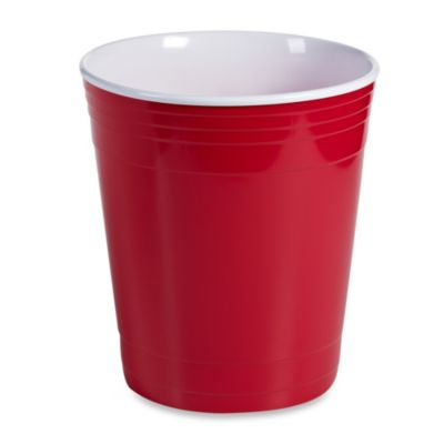Red Party Cup 15-Liter Waste Basket