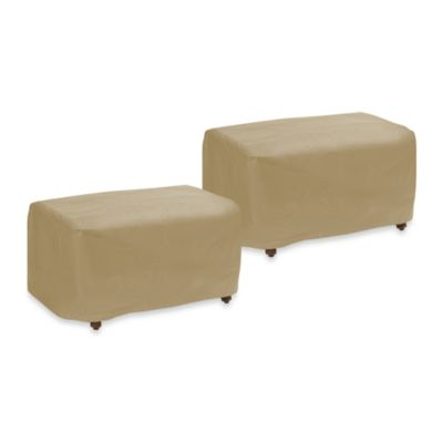 Protective Covers by Adco Small Ottoman Cover
