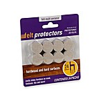 24-Count Hardwood and Hard Surfaces 7/8-Inch Oatmeal Felt Protectors