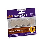 16-Count Hardwood and Hard Surfaces 1 1/4-Inch Oatmeal Felt Protectors