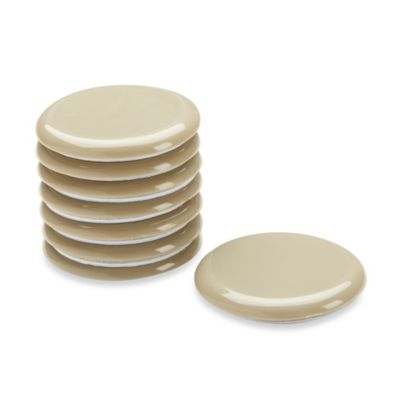 Waxman 2.4-Inch Self-Stick Round Super Sliders (Set of 8)