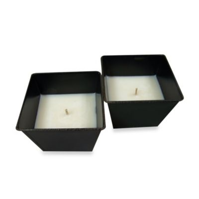 Citronella Bucket 2-pack Candles