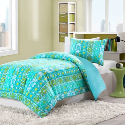 Sasha Twin Reversible Duvet Cover and Sham Set